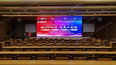 南安会展中心室内Q2全彩显示屏53平方